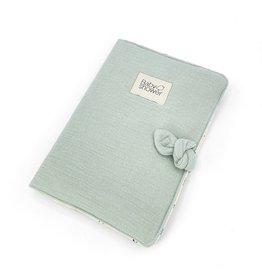 Baby Shower Protège carnet de santé - Sage