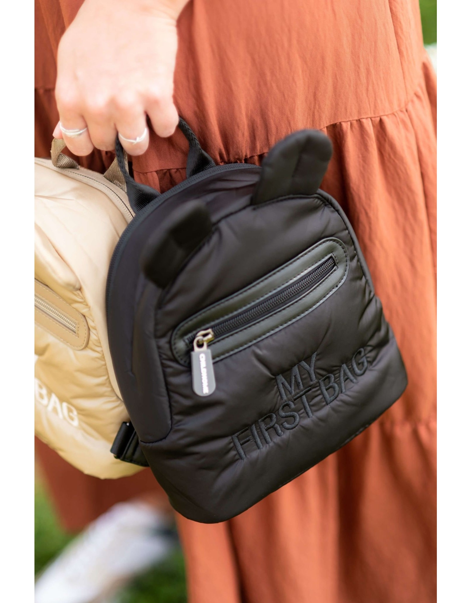Childhome My first bag matelassé noir