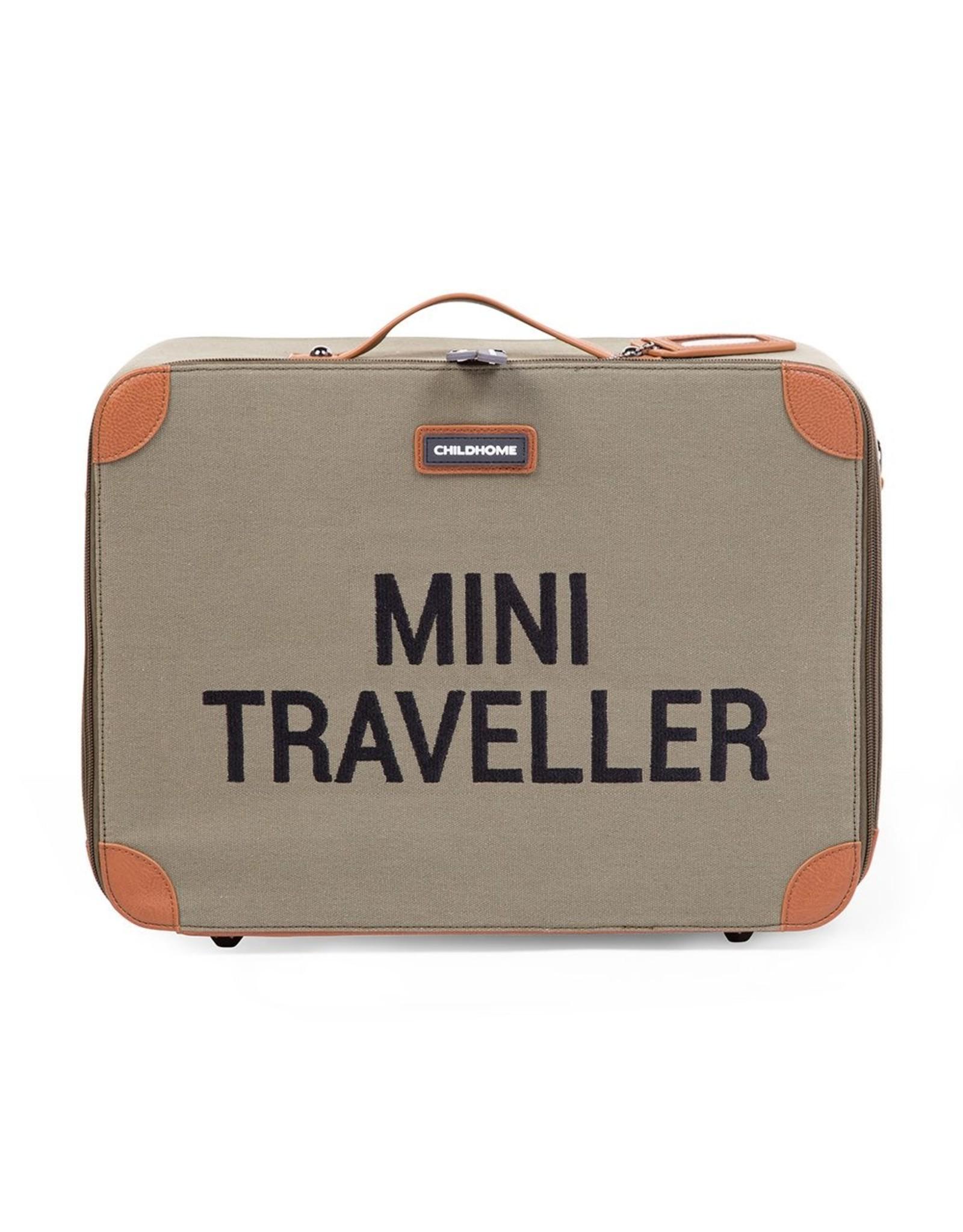 Childhome Valise Mini Traveller Kaki