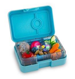 Yumbox Boîte à tartines Mini snack - 3 compartiments - bleue