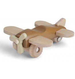 Konges Slojd Avion en bois - amande