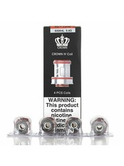 Uwell Uwell - Crown 4 - Dual SS904L Coils - 0,4 Ohm