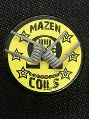 Mazen Coil Mazen Coils - Alien Clapton Coil (2 Stk. ) - Kanthal A1 / SS316L - 0,48 Ohm Single