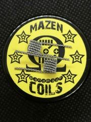 Mazen Coil Mazen Coils - Twisted Fine Fused Clapton Coils - Ni80/SS304L – ca. 0.48 Ohm Single