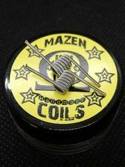 Mazen Coil Mazen Coils- Fine Fused Clapton 2 Core Coils - Ni80/Ni80