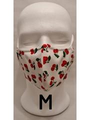 Kirschlolli Kirschlolli - Stoffmaske mit Draht - Weiss - Größe M - Handmade