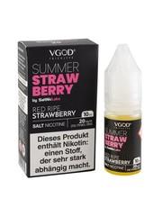 VGOD VGOD - Summer Strawberry - SaltNic - 20 mg Nikotin