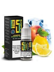 Vovan 5 Elements - Lemon Peach Ice - Nic Salt Liquid - 10 ml - 18 mg