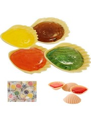 International Sweet Trading Schleckmuscheln - 9,6 g - einzeln verpackt - 5er Pack