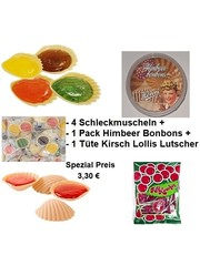 International Sweet Trading Kirschlollis - Süßigkeiten - 80er Bundle