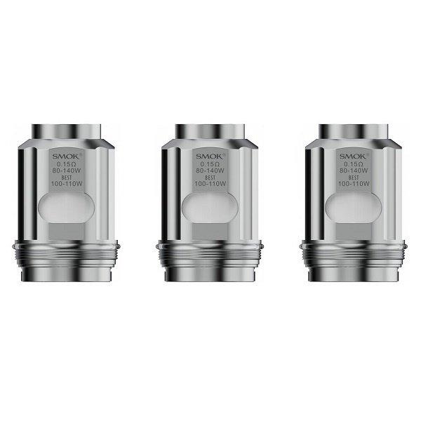 SMOK TFV18 - Verdampferköpfe - Dual Mesh Coils - 0.15 Ohm - 3er Pack