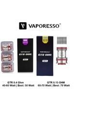 Vaporesso Vaporesso - GTR - Verdampferköpfe - 0.15 | 0.4 Ohm - 3er Pack