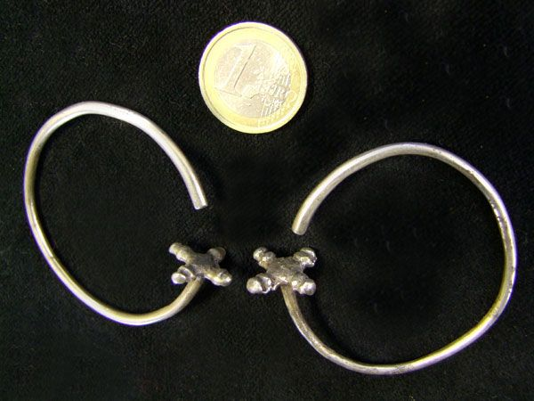 Tribal Silber Earrings