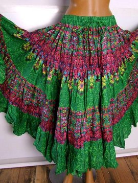25 yards Tribal Skirt colorful