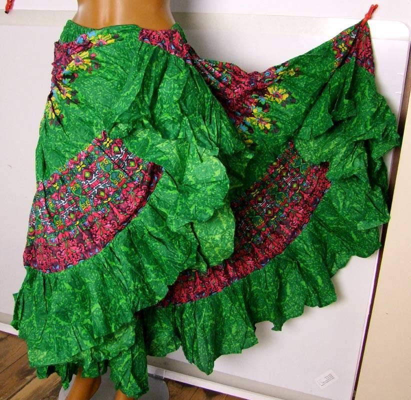 25 yards Tribal Skirt colorful