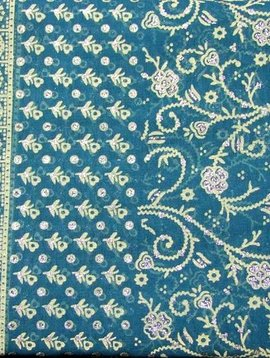 Jodha mharani Saree teal/ purple