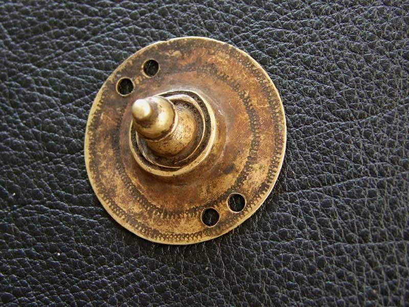 Brass disc