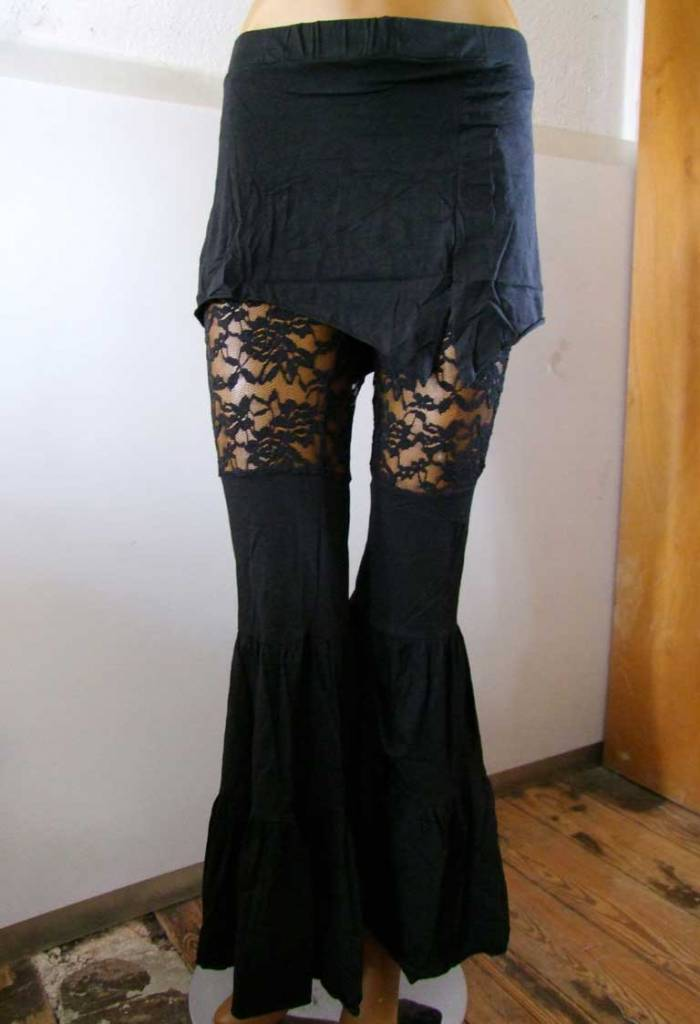 Tribal Fusion Pants black