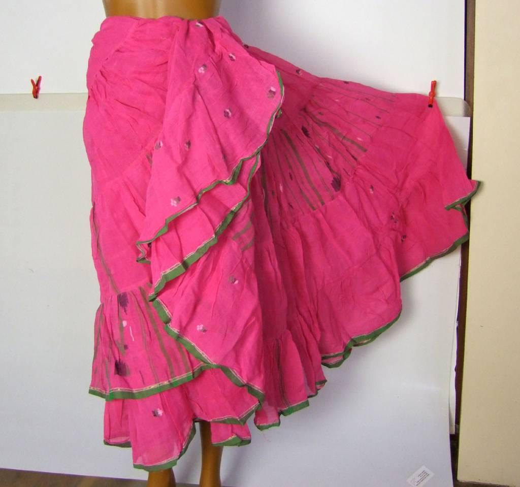 18 yards Saree Skirt