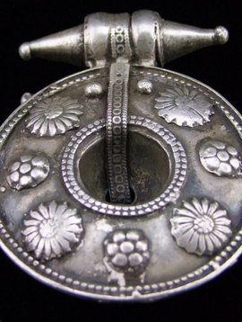 Alter ind. Silber Ohrring/ Anhänger