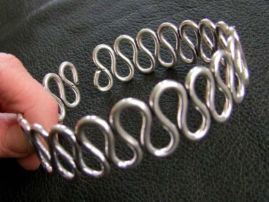 German Silver Upperarm Bracelet