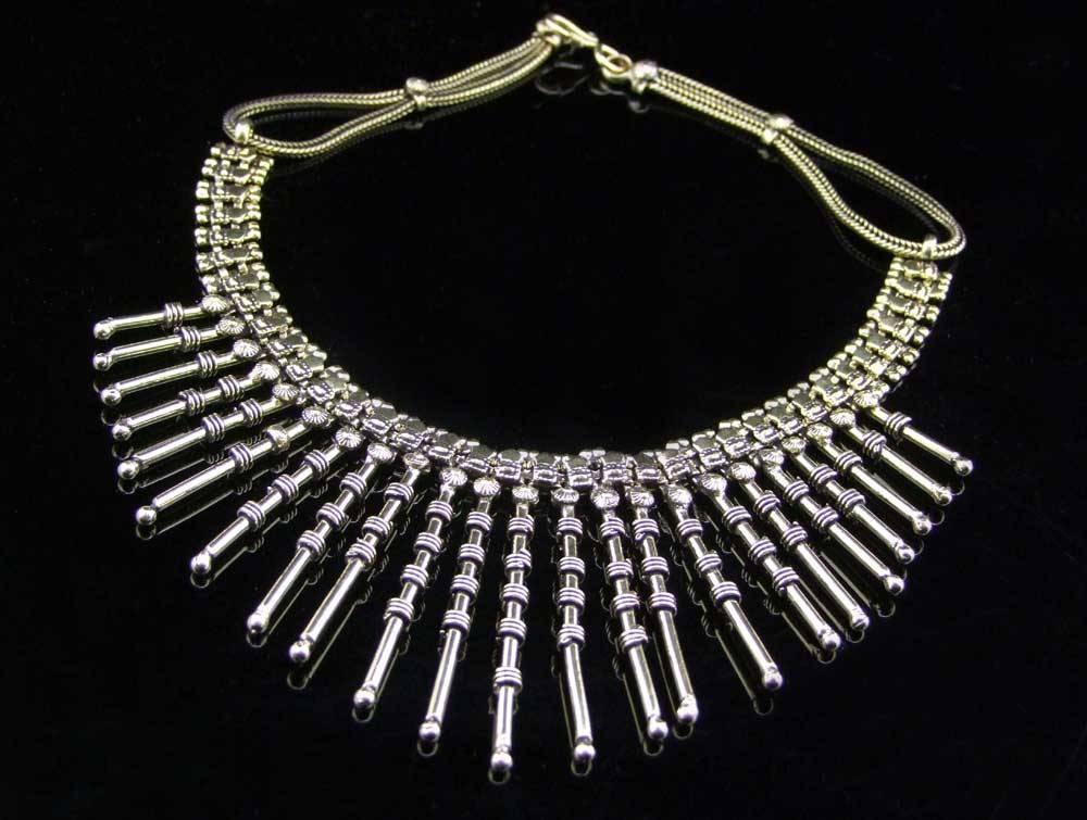 Tribal Brass necklace