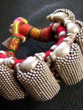 Silver bracelet/ armband