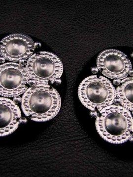 Tribal Medaillon black/ silver