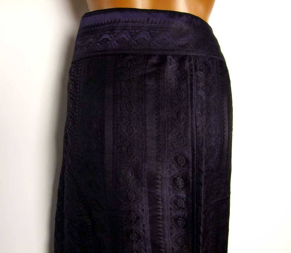 Silk Wrapskirt Maxi