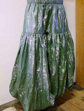 Shimmer Lurex Pantaloons grün