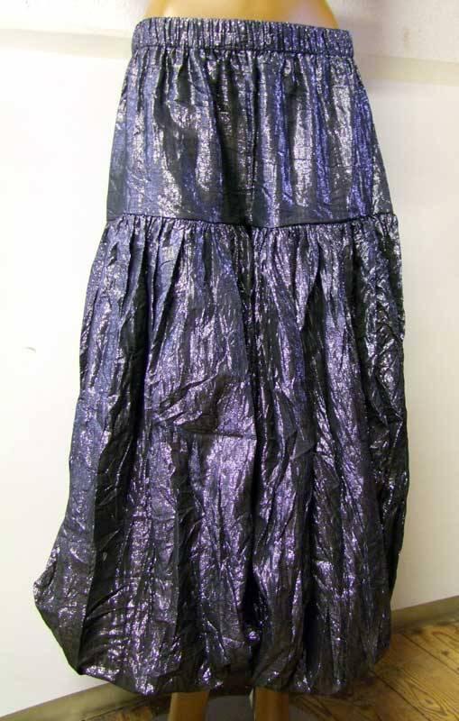 Shimmer Lurex Pantaloons black