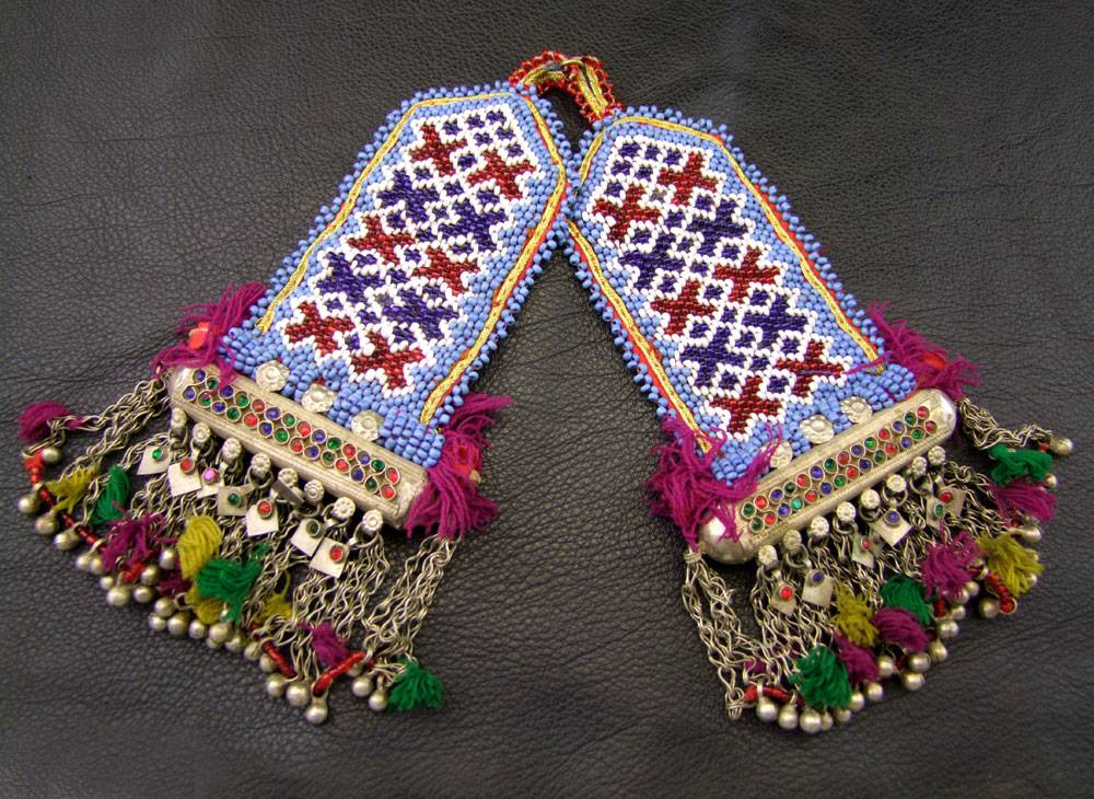 Tribal Pendants, pair