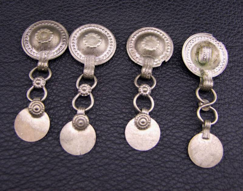 Turkoman Dangle Buttons