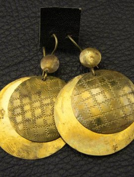 Tuareg brass Earrings