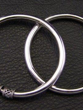 Silber Ohrringe/Bangles