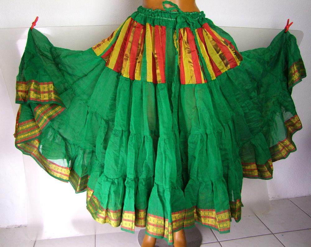 Sari Skirt/ Tribalrock 24 yards