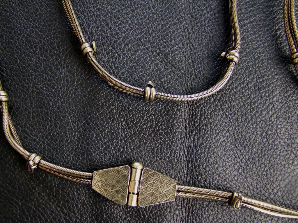 Messing Bauchkette 90,100 & 110cm
