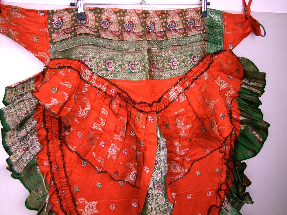 Tribal Sari Überrock, Schurz