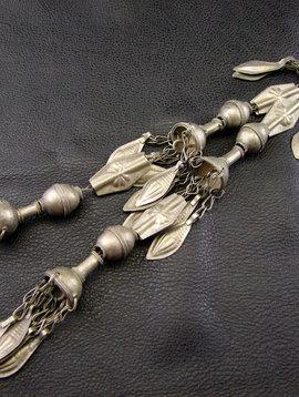 Tribal metal Tassel