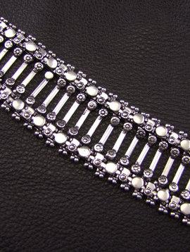 Neusilber Armband