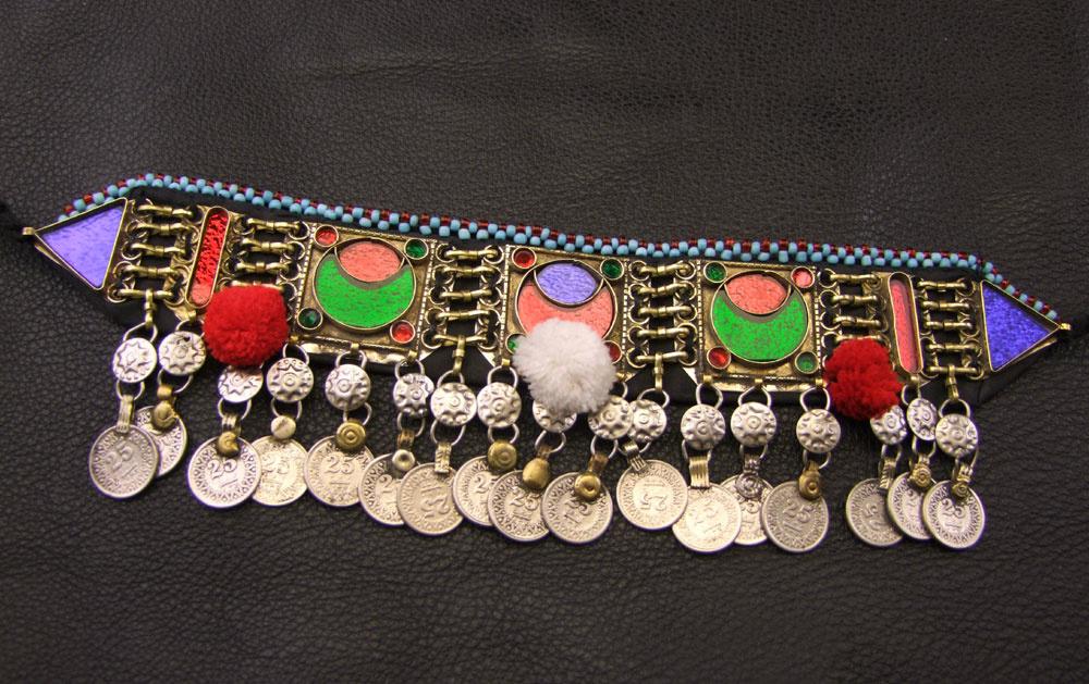 Tribal Choker colorful