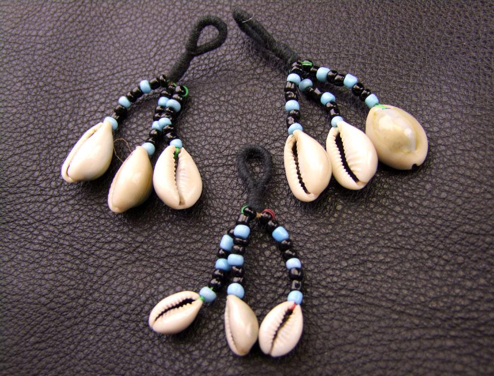 Tribal Cowry pendant