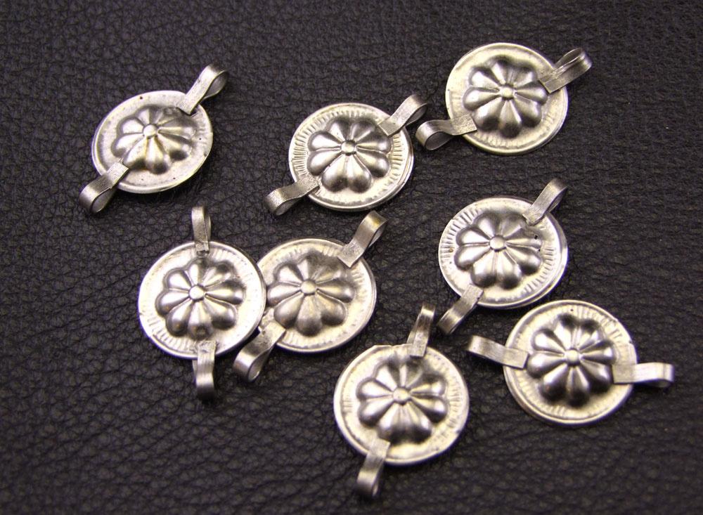 Tribal Gillet silver pendant