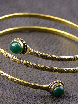Brass Upperarm Bracelet