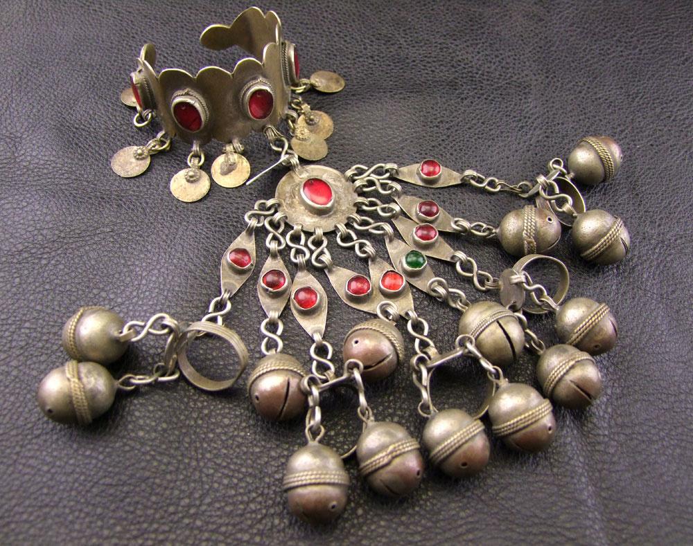 Tribal Turkmenen Handflower Sklavenarmband