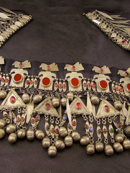Turkmen  Tribal Headpiece/ belt