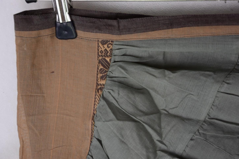 Wrap Skirt Cotton Saree
