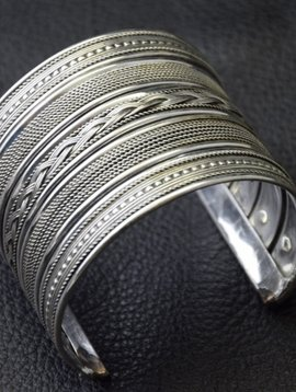 German silver Tribal Bracelet