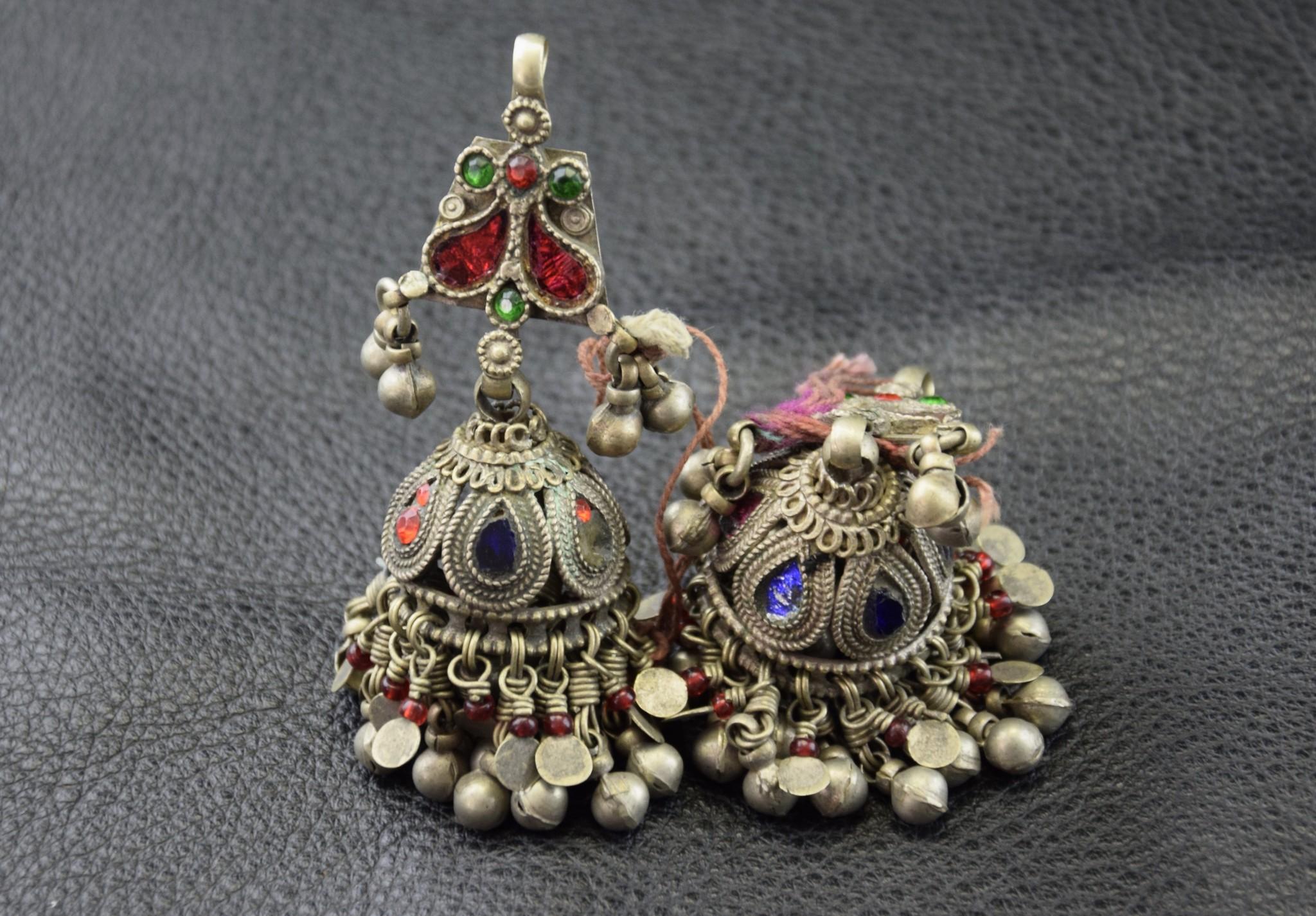 Tribal Ohrringe/ Glöckchen