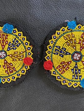 Tribal Beadwork, pair